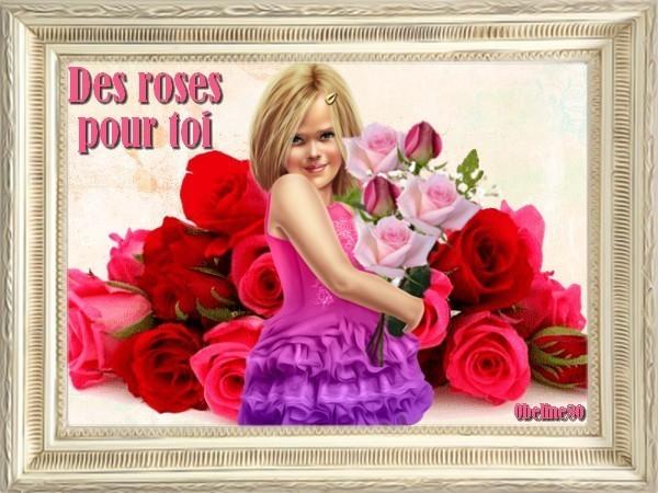 Défi Des roses pour toi