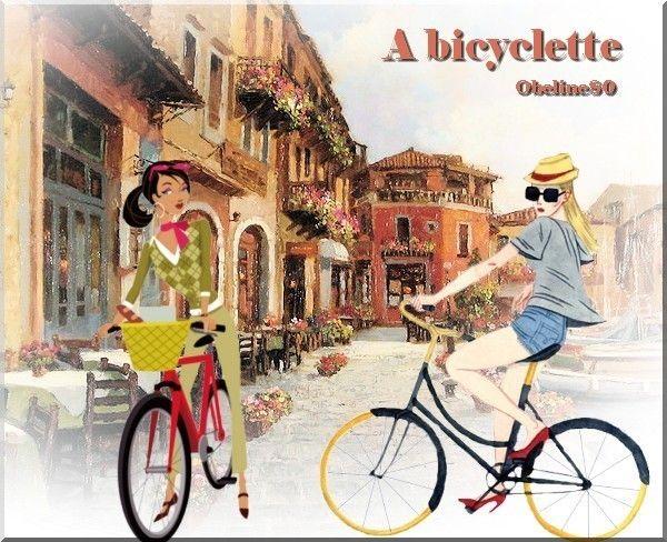 Défi à bicyclette