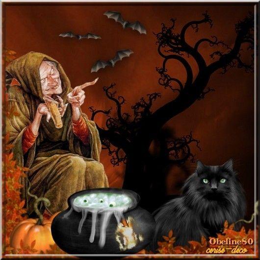 vos créations1 pour  la marmite d'halloween en gif