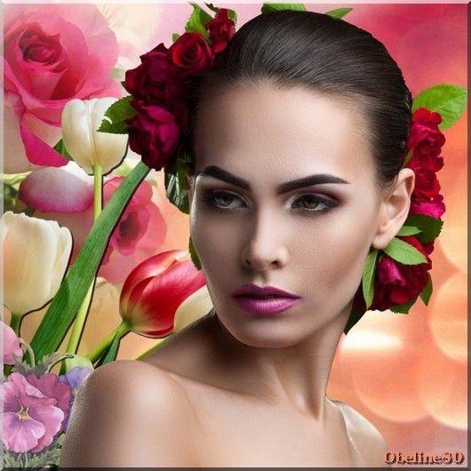 vos créations1 avec le cluster bouquet de fleurs