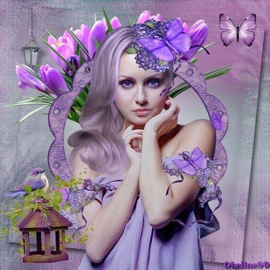 Défi en violet